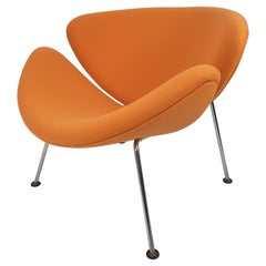 Mid Century Orange Slice Chair by Pierre Paulin for Artifort, 1980s