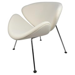 Mid Century Orange Slice Chair by Pierre Paulin for Artifort, 1980s