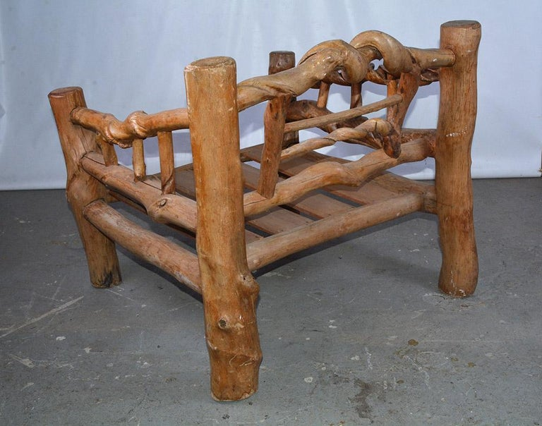Midcentury Organic Sculptural Lounge Chair For Sale 3