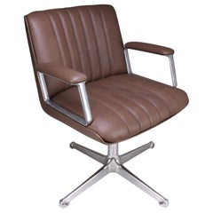 Midcentury Osvaldo Borsani Office Chair, 1960s