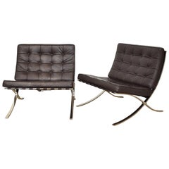 Mid-Century Modern Club Chairs