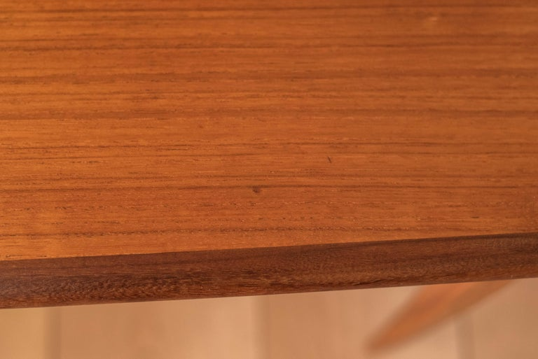 Mid Century Pair of Teak End Tables For Sale 4