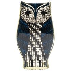 Midcentury Palatnik Op Art Lucite Owl Sculpture