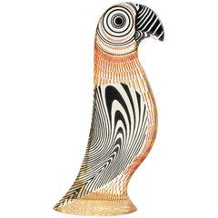 Midcentury Palatnik Op Art Lucite Parrot