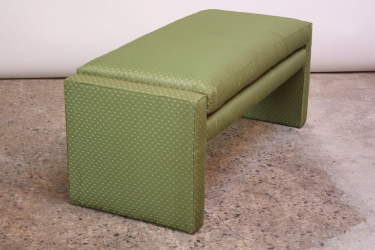 Mid-Century Modern Mid-Century Parsons Bench by Milo Baughman For Sale