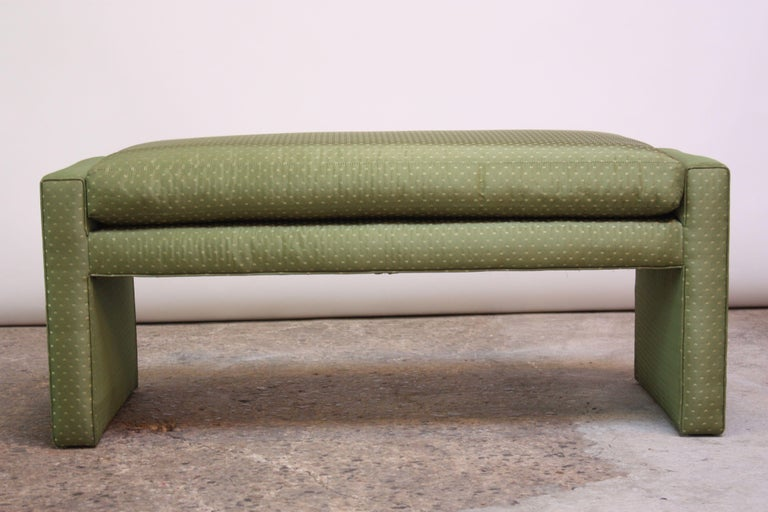 Mid-20th Century Mid-Century Parsons Bench by Milo Baughman For Sale