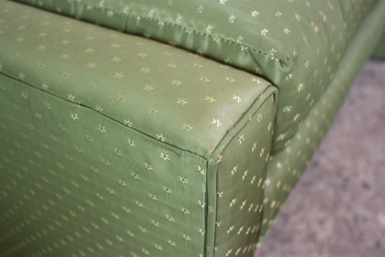Upholstery Mid-Century Parsons Bench by Milo Baughman For Sale