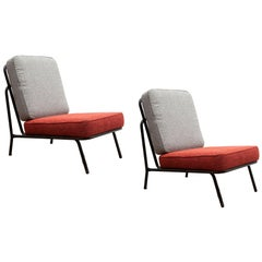Midcentury Patio Chairs, Belgium Design, 1960s