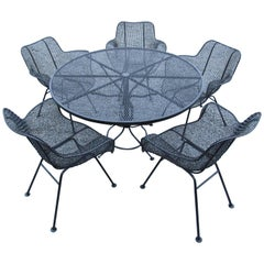 Midcentury Patio Dining Set by Russell Woodard