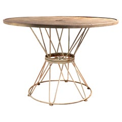 Mid Century Patio Garden Dining Table by Homecrest