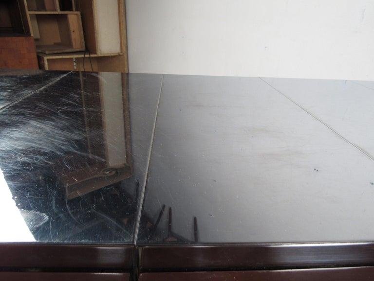Midcentury Paul Evans Brutalist Sideboard for Directional For Sale 3