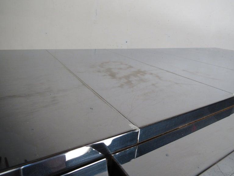 Midcentury Paul Evans Brutalist Sideboard for Directional For Sale 4
