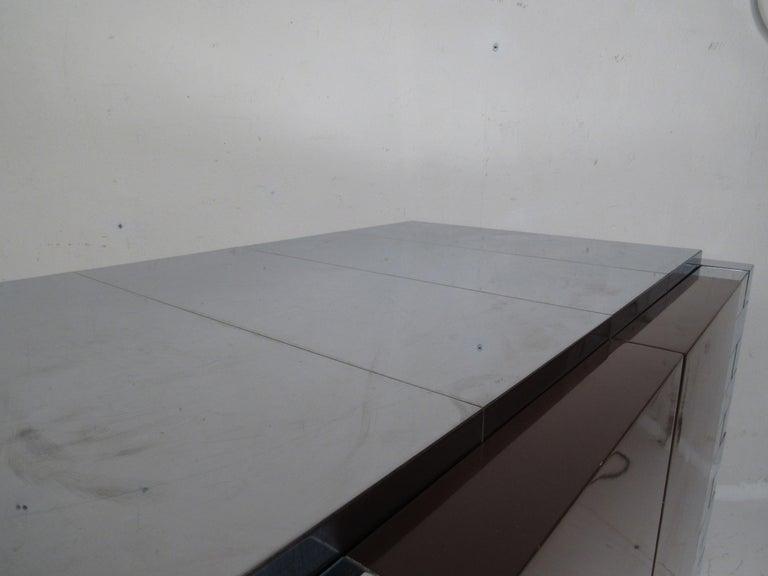Midcentury Paul Evans Brutalist Sideboard for Directional For Sale 5