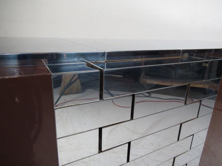 Midcentury Paul Evans Brutalist Sideboard for Directional For Sale 6