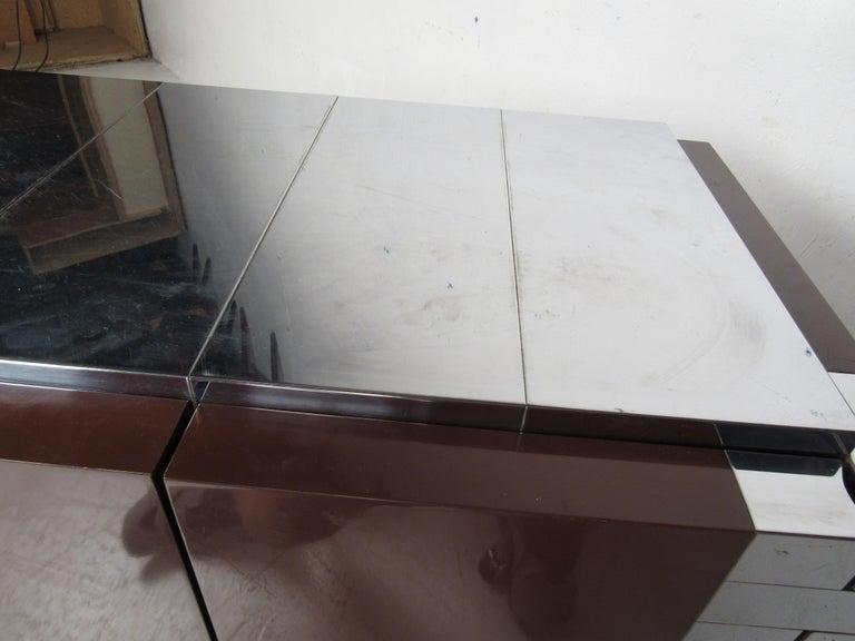 Midcentury Paul Evans Brutalist Sideboard for Directional For Sale 8