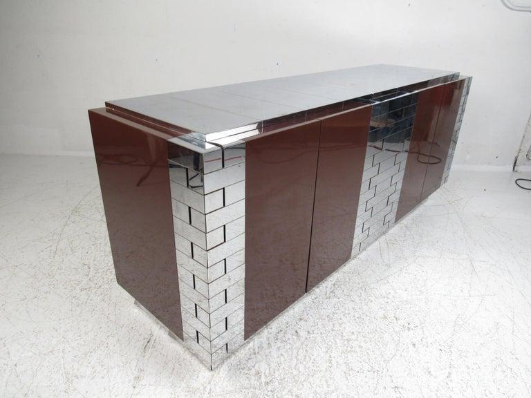 Mid-Century Modern Midcentury Paul Evans Brutalist Sideboard for Directional For Sale