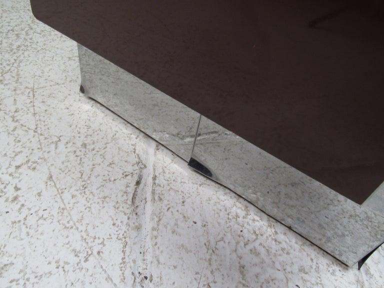 Midcentury Paul Evans Brutalist Sideboard for Directional For Sale 1
