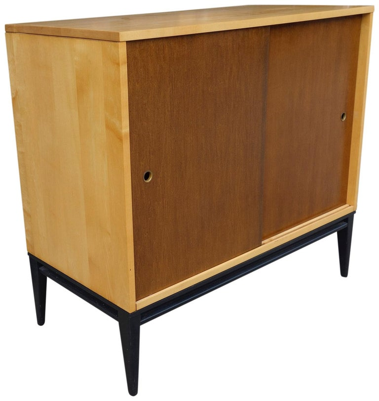 Midcentury Paul McCobb Cabinet In Good Condition For Sale In BROOKLYN, NY
