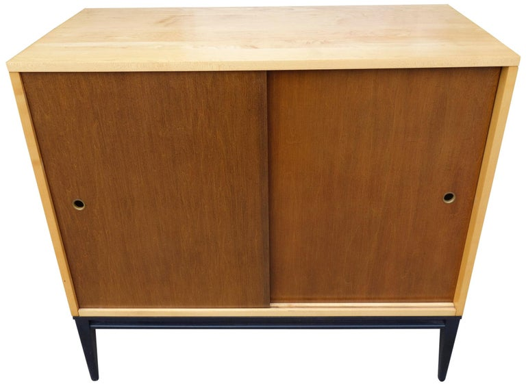 Wood Midcentury Paul McCobb Cabinet For Sale