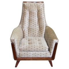 Midcentury Pearsall Style Lounge Chair by Rowe