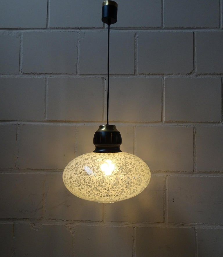 Mid-Century Modern Midcentury Pendant by Doria, Germany, 1960s For Sale
