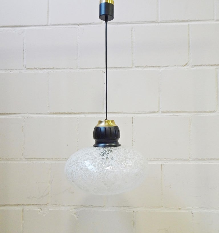 Mid-20th Century Midcentury Pendant by Doria, Germany, 1960s For Sale