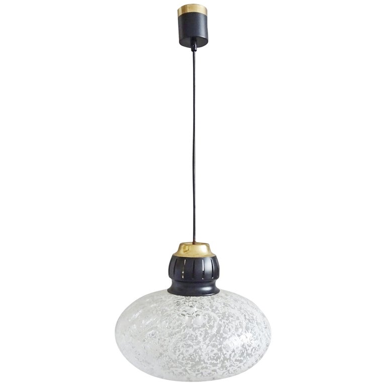 Midcentury Pendant by Doria, Germany, 1960s For Sale