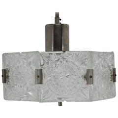 Midcentury Pendant by Kamenický Serov, 1960s