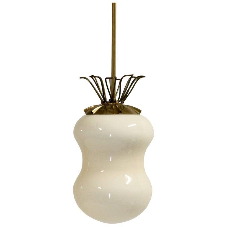 Midcentury Pendant Light in Brass, Finland, 1960s