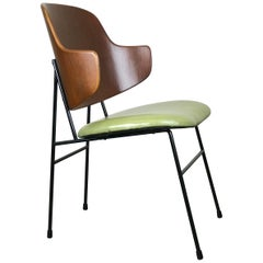 Mid Century Modern Penguin Accent Side Chair by Ib Kofod-Larsen for Selig