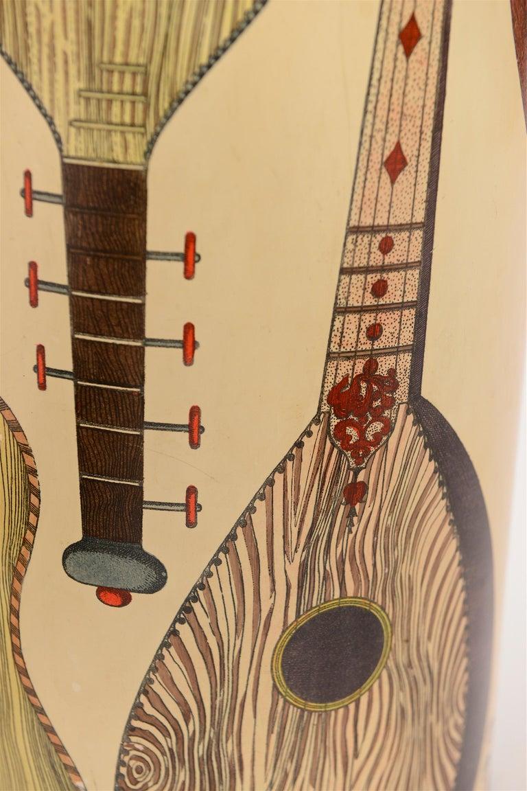 Mid-Century Modern Midcentury Piero Fornasetti 'Instrumenti' Vintage Umbrella Stand, circa 1955 For Sale