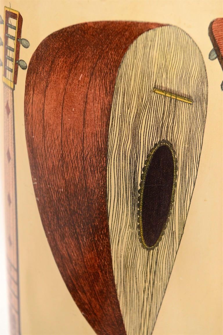Midcentury Piero Fornasetti 'Instrumenti' Vintage Umbrella Stand, circa 1955 In Good Condition For Sale In London, GB