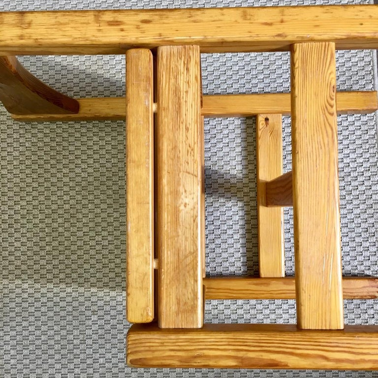Midcentury Pine Chair by Ilmari Tapiovaara for Laukaan Puu Oy, Finland, 1960s For Sale 6