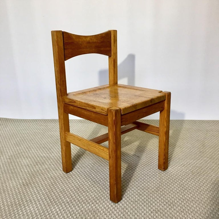 Finnish Midcentury Pine Chair by Ilmari Tapiovaara for Laukaan Puu Oy, Finland, 1960s For Sale
