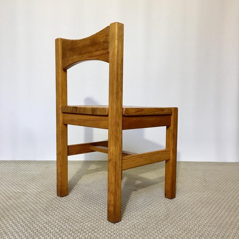 Mid-20th Century Midcentury Pine Chair by Ilmari Tapiovaara for Laukaan Puu Oy, Finland, 1960s For Sale