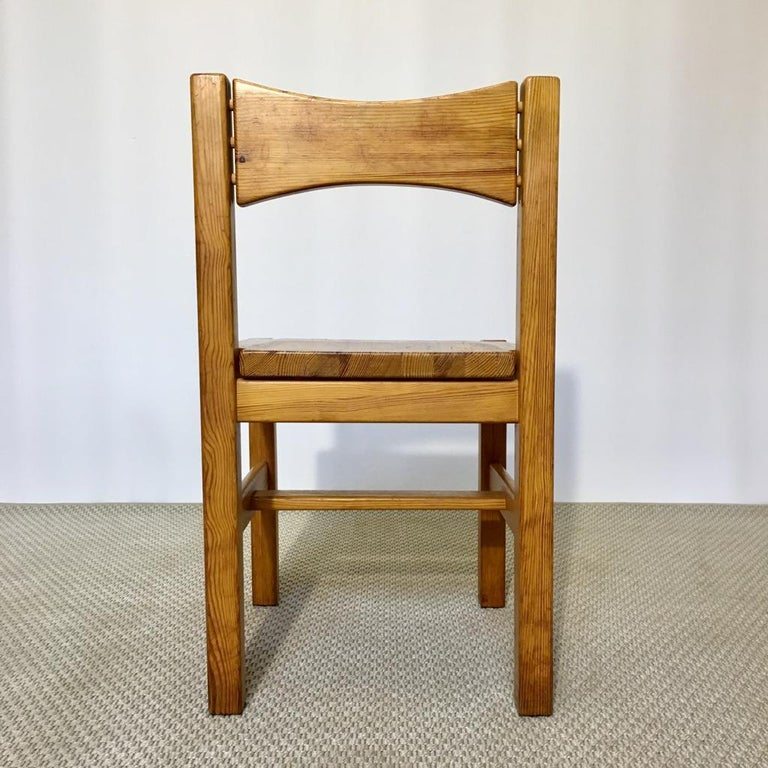 Midcentury Pine Chair by Ilmari Tapiovaara for Laukaan Puu Oy, Finland, 1960s For Sale 1