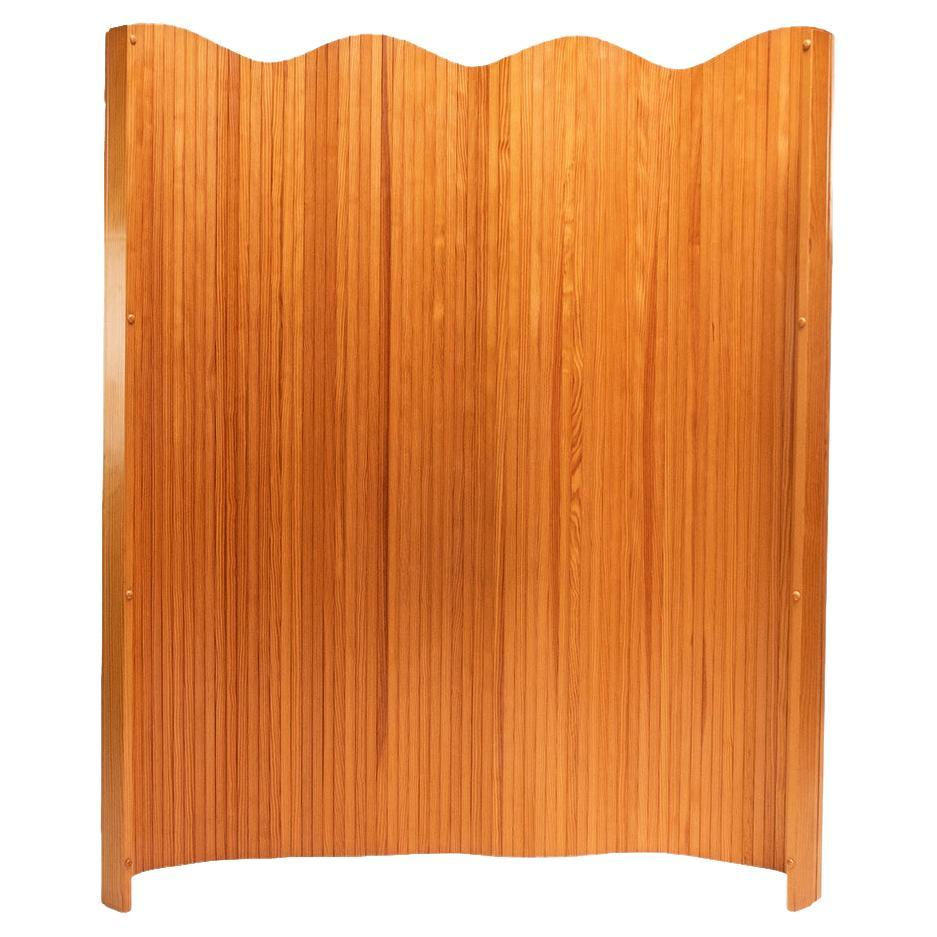 Mid Century Pine French Room Divider Screen