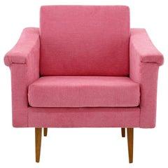 Mid-Century Pink Armchair, 1960s