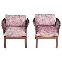 Midcentury Plexus Armchairs by Illum Wikkelsø for CFC Silkeborg
