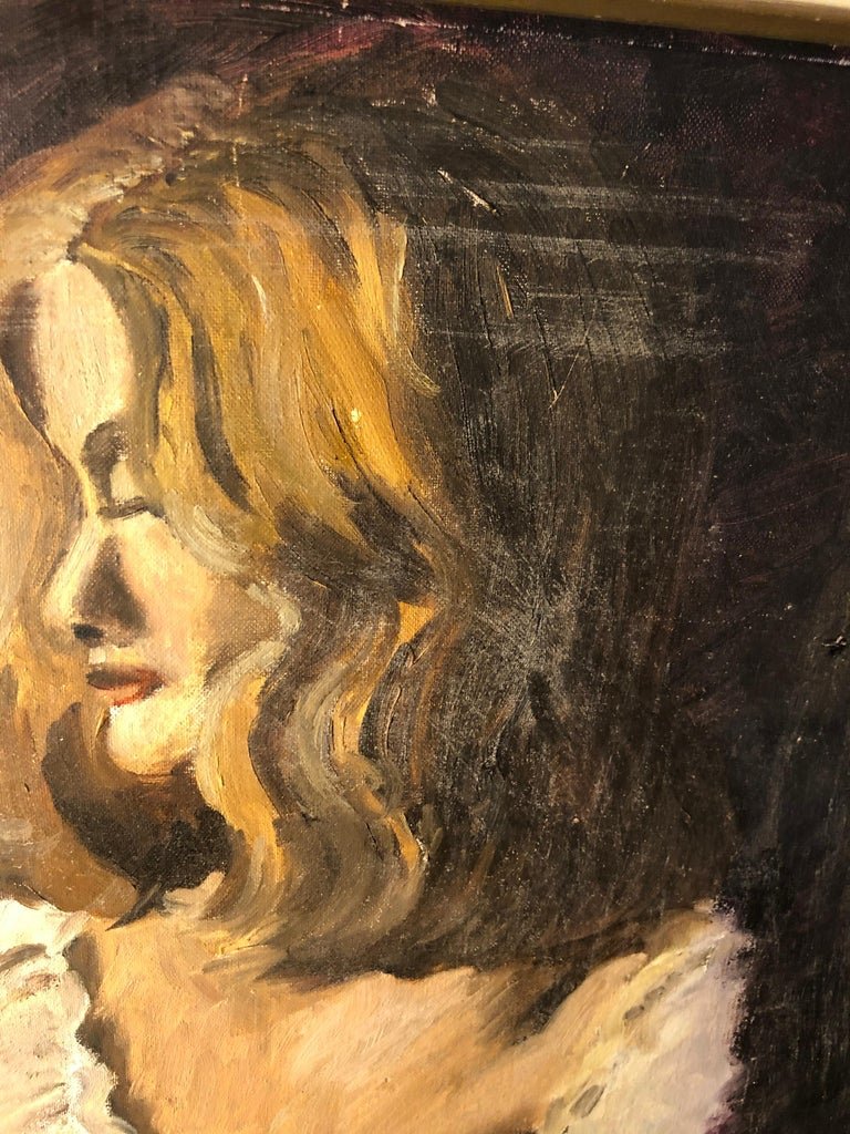 Midcentury Portrait of a Woman For Sale 5