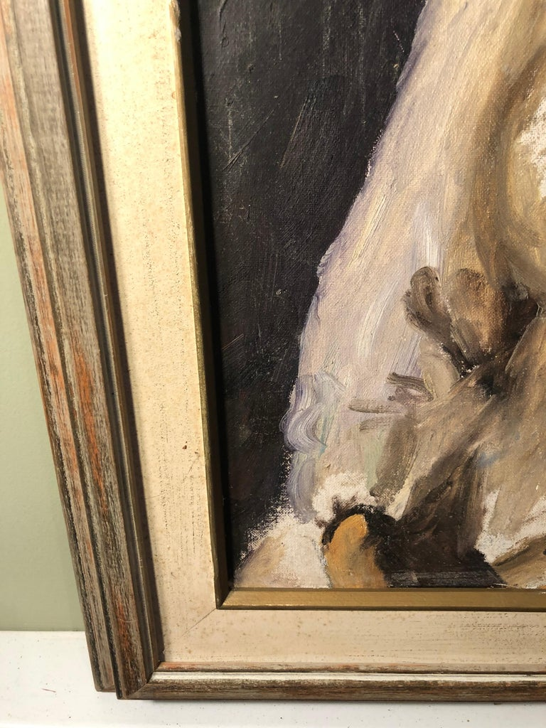 Midcentury Portrait of a Woman For Sale 9