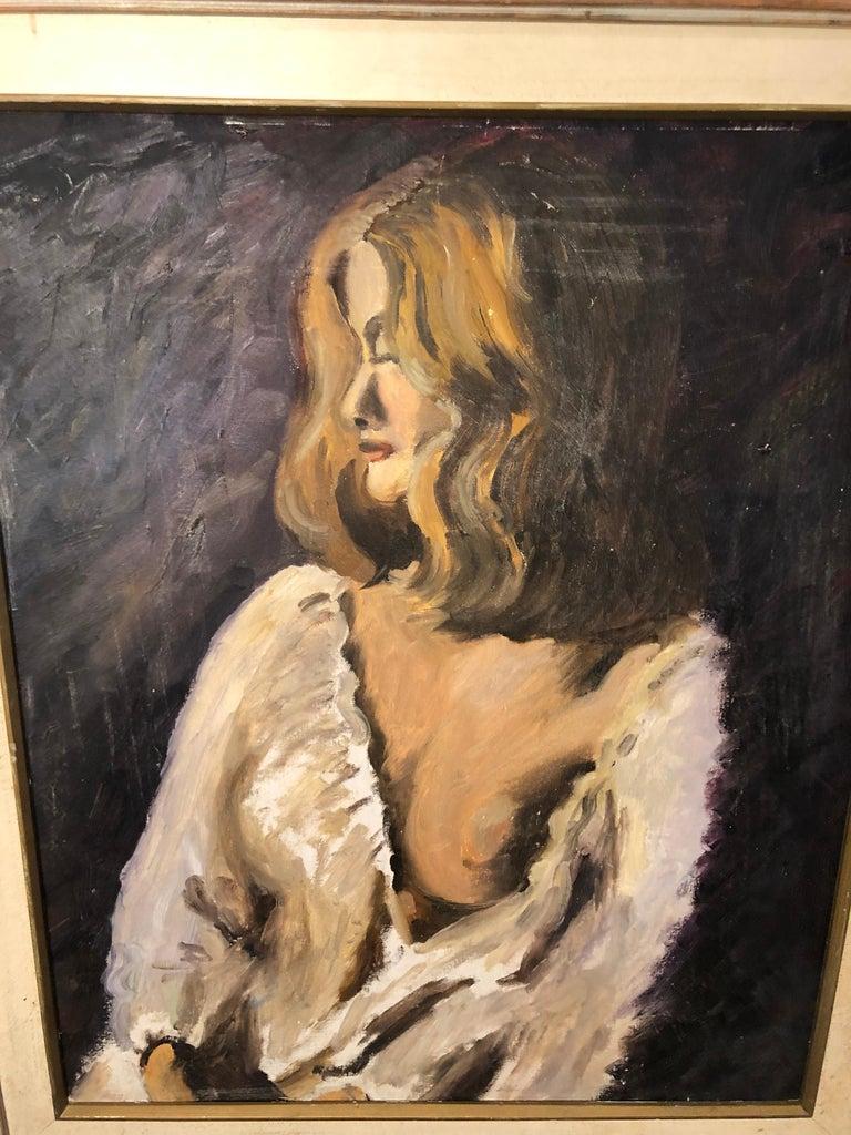 Midcentury Portrait of a Woman For Sale 11