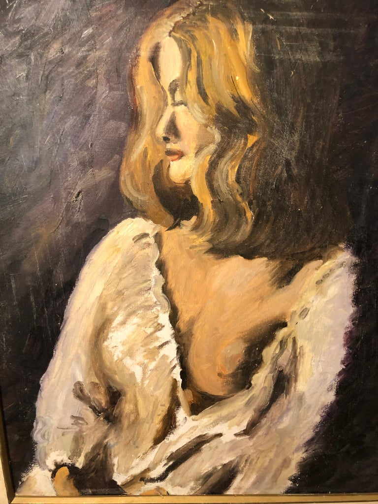 Midcentury Portrait of a Woman For Sale 1