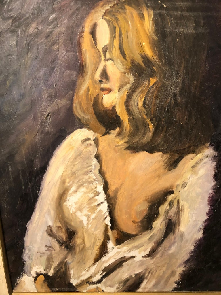 Midcentury Portrait of a Woman For Sale 2