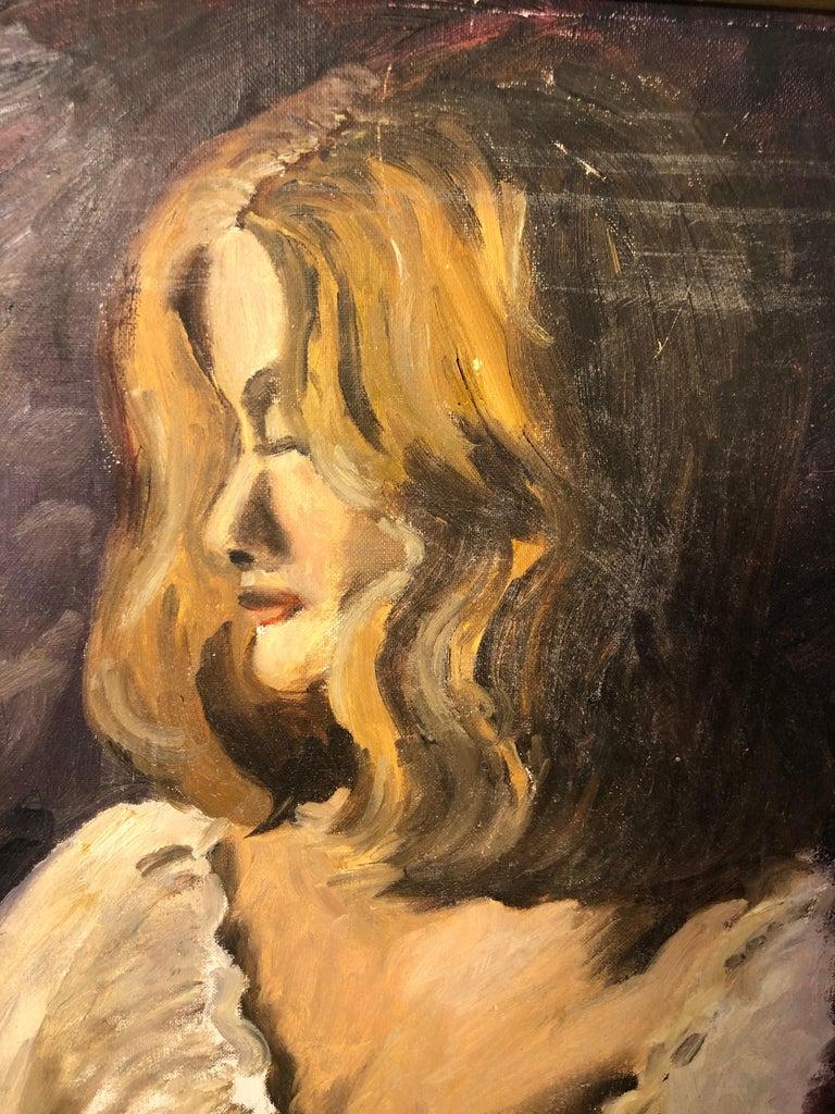 Midcentury Portrait of a Woman For Sale 3