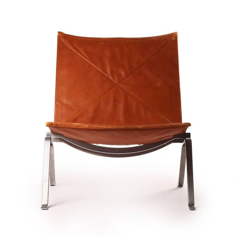 Danish Midcentury Poul Kjaerholm PK22 Original First Edition by E. Kold Christiansen For Sale