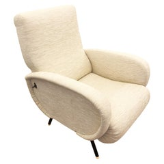 Midcentury Recliner in the Manner of Marco Zanuso