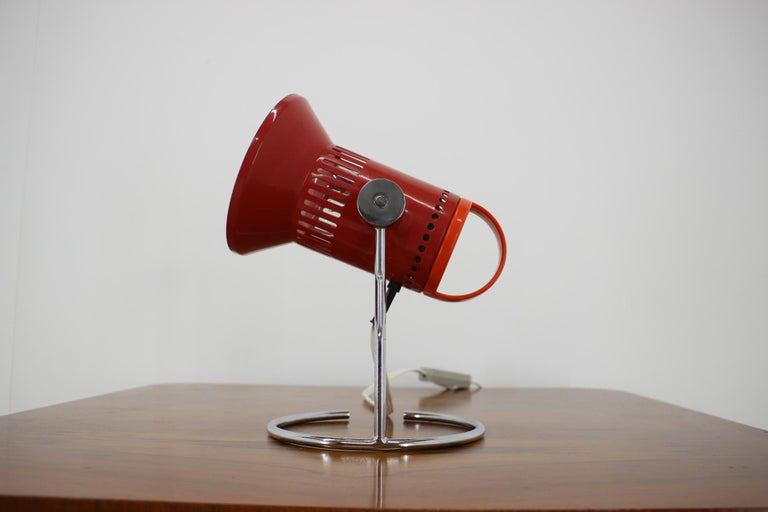 - Made in Czechoslovakia - Made of metal, lacquered metal - Re-polished - Fully funktional - Very good, original condition.