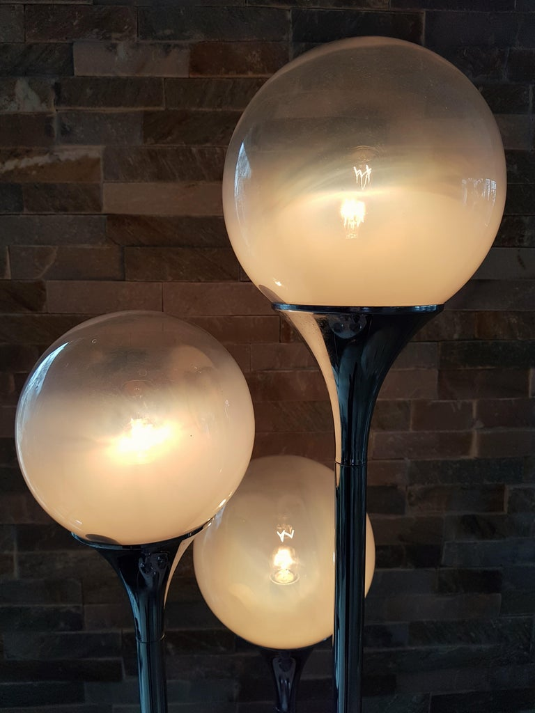 Midcentury Reggiani Table Lamp, Italy, 1965 For Sale 7