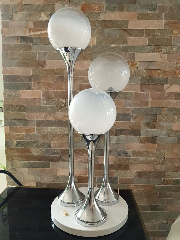 Midcentury Reggiani Table Lamp, Italy, 1965 For Sale 12